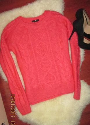 Крутой теплый свитер