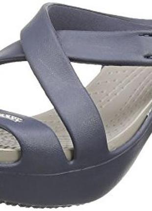 Шлепанцы  crocs cyprus iv heel w8