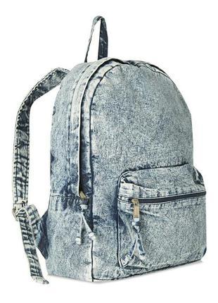 Фирменный джинсовый рюкзак