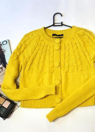 """Новый """""""""""" брендовый вязаный пуловер  - кардиган на пуговицах / германия"""