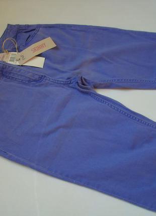"Лавандовые джинсы skinny ""f&f"""