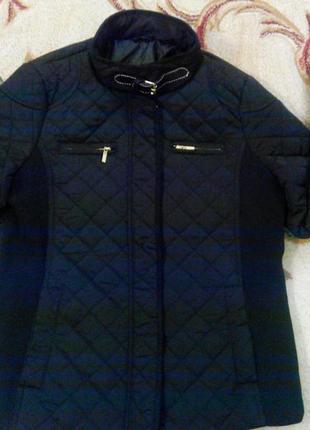 Стильная женская куртка f&f р.46-48 англия,оригинал, новая