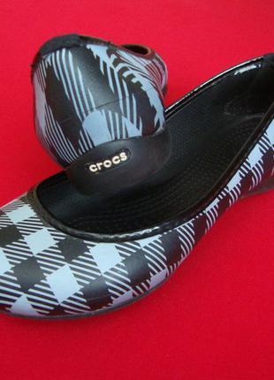 Балетки crocs оригинал 39 размер
