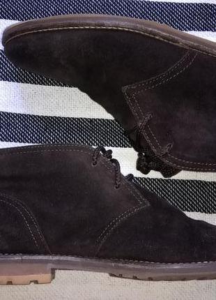 Замшевые ботинки tommy hilfiger, 38