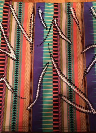 Разноцветная юбочка