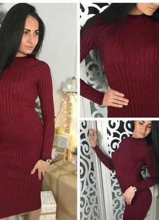 Платье 380 красный
