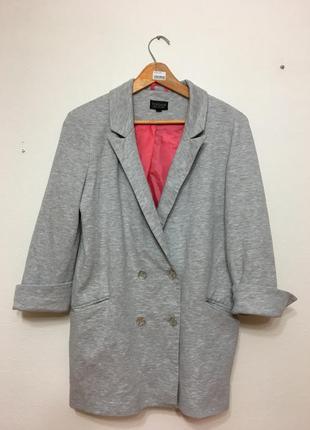 Пиджак серый topshop