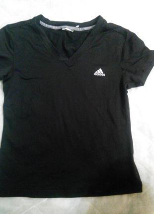 Футболка для спорта и досуга adidas р.s -m(36-38евро-размер, наш 42-44)оригинал