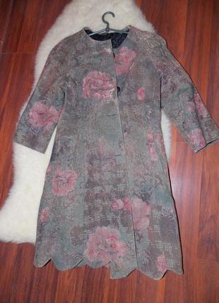 Ексклюзивный комплект (пальто +платье).