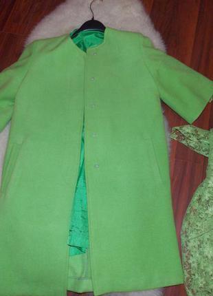 Очень красивое пальто в ретро стиле индивидуального пошива (+платочек)