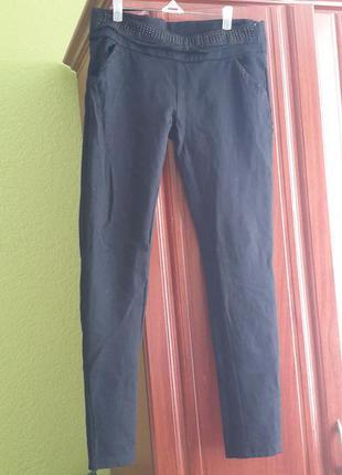 Черные лосины штаны на байке турция
