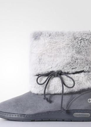 Оригинал!! сапоги с мехом зимние женские adidas casual