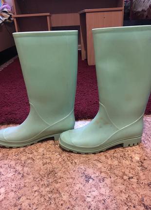 Резиновые сапоги asos wellington boots