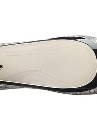 Балетки crocs lina shiny flat, стелька 24 см