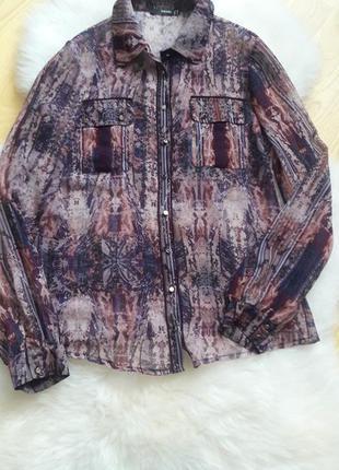 Стильная шифоновая блуза shendel
