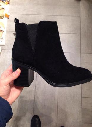 Новые ботинки stradivarius (36-39)