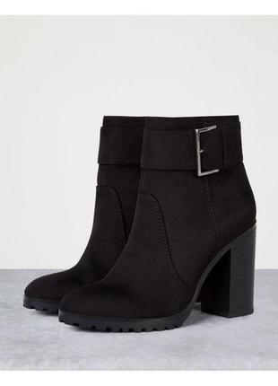 Новые ботинки bershka (38,39)