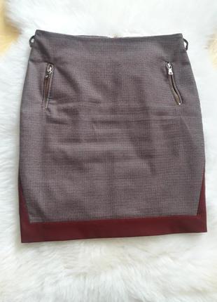 Приталеная юбка  гусиная лапка  shendel
