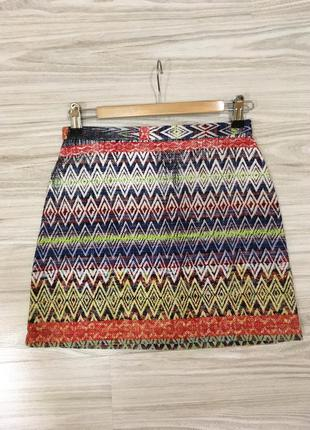 Фактурная юбка topshop