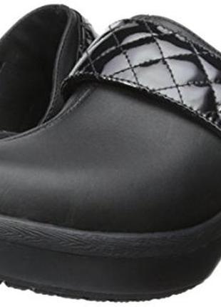 Сабо crocs cobbler quilt strap clog, w8