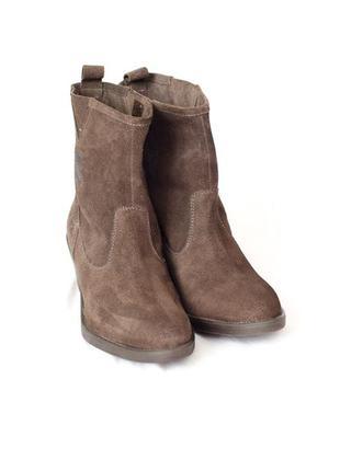 Новые замшевые ботиночки mexx р.41