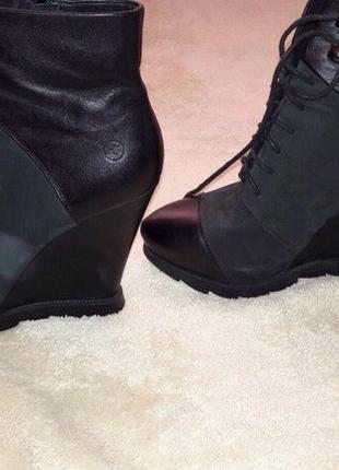 Женские ботинки bronx ( натуральная кожа)
