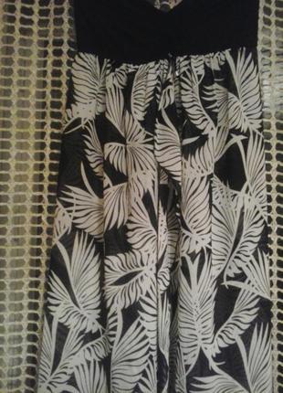 Летний сарафан–юбка