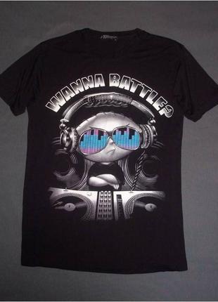 Черная футболка со стью гриффином, family guy