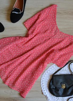 Блуза рожева в зірочки f&f