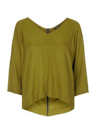 Блуза с молнией сзади