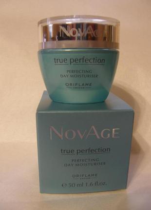Дневной увлажняющий крем для совершенства кожи novage true perfection (25+)