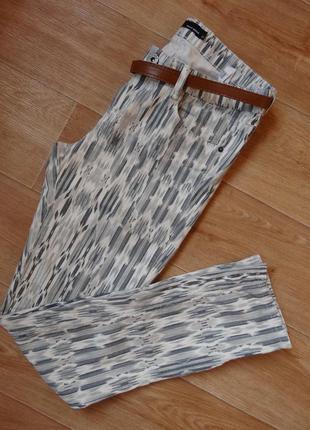 Снизила цену красивые стрейчевые штаны- брюки l- размер . стильные модные