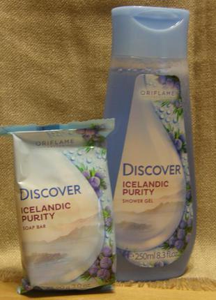 Мыло + гель «свежесть исландии»