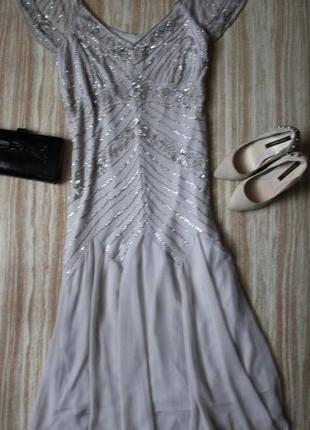 Роскошное вечернее платье в стиле 20хх №463