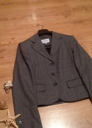 Красивый пиджак классика под юбка брюки бренд   next / l