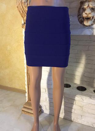 Бандажная юбка красивого фиолетового цвета от topshop