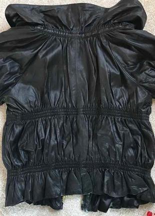 Кожаная куртка balizza
