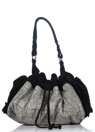Сумка торба от promod натуральная замша