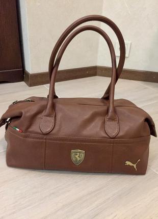 Супер модная сумка puma ferrari (original)