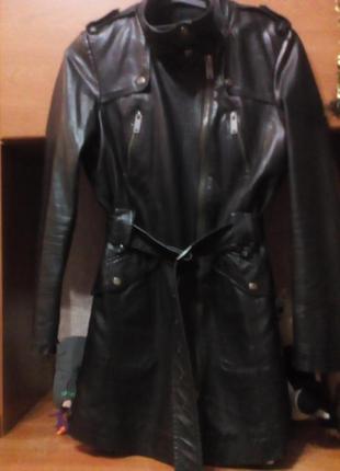 Пальто плащ косуха