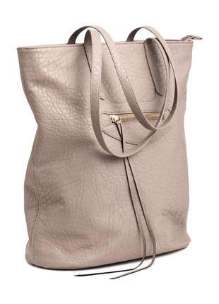 Стильная сумка шоппер от от h&m англия