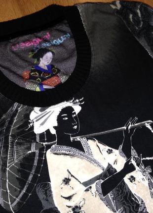 Стильный модный красивый яркий свитер свитшот от desigual оригинал