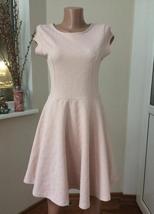 Блатье в узор пудровое