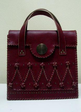 """Дизайнерская сумка """"леди"""""""