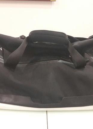 Сумка adidas porshe design оригинал  из италии водоотталкивающий текстиль с кожаными вставками