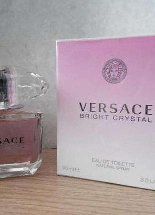 Versace bright crystal edt 90 мл оригинал