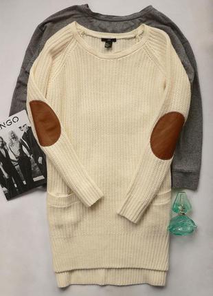 Свитер -платье h&m размер m