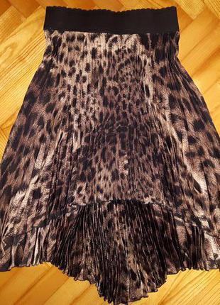 Шикарная асимметричная юбка плиссе от швейцарского бренда dune! p.-36
