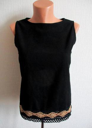 Красивая блуза с вязаным кружевом wallis