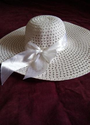 Новая,пляжная шляпа.р56-57см.